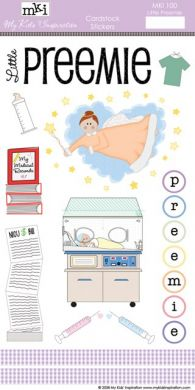 Little Preemie Cardstock Stickers